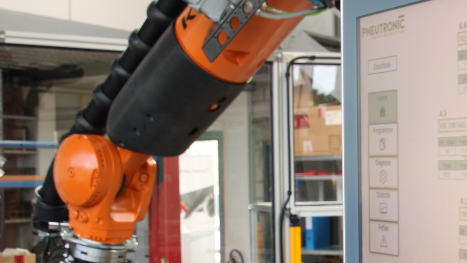 Kuka Roboterprogrammierung KR 4, Robotersimulation