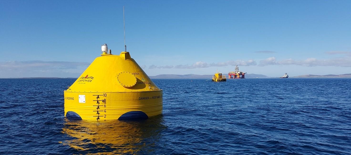 Foto Cor Power Ocean Wace Converter
